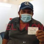 Poncho Zuleta, recibe segunda dosis de vacuna contra el Covid-19