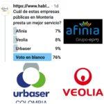 El voto en blanco les dio una literal palera a las empresas de servicio público en Montería
